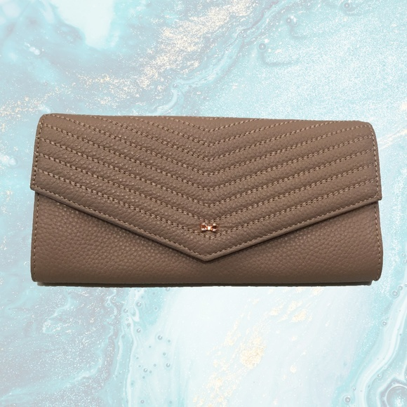 ce64aae88 Ted Baker Tan Pebbled Leather Wallet